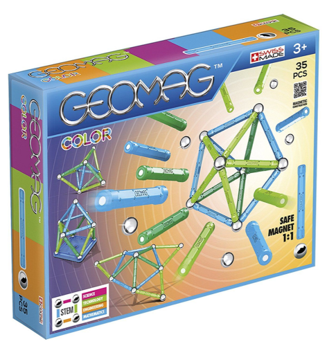 Kids Geomag 261 Classic Building Magnetic Construction Set 35 Piece Playset Gift